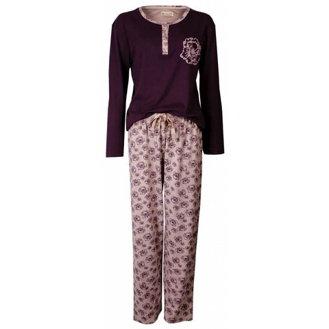 Dames pyjama TEPYD2404B-Paars-K11