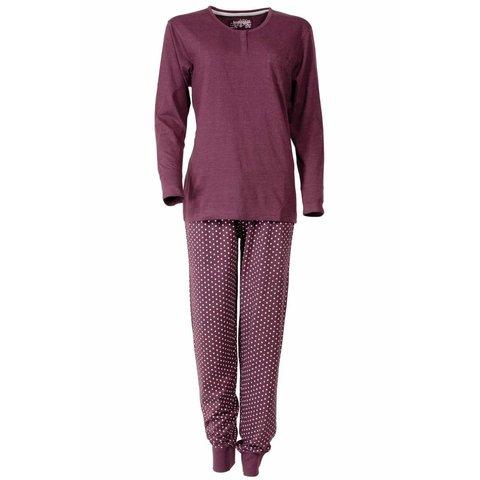 Dames pyjama IRPYD2301A-Rood-A6