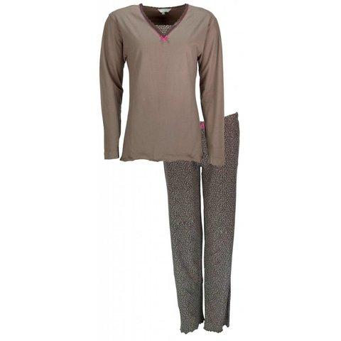 Irresistible Dames Pyjama Bruin