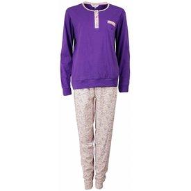 Tenderness Dames pyjama TEPYD1501A-Paars-M15