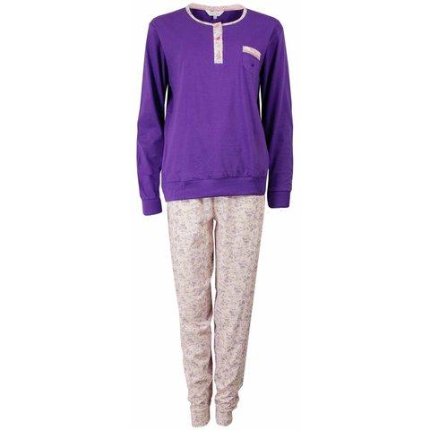 Dames pyjama TEPYD1501A-Paars-M15