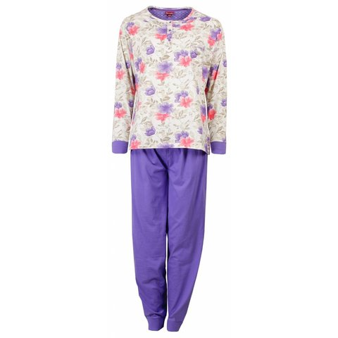 Dames pyjama MEPYD1501A-Paars- RM1