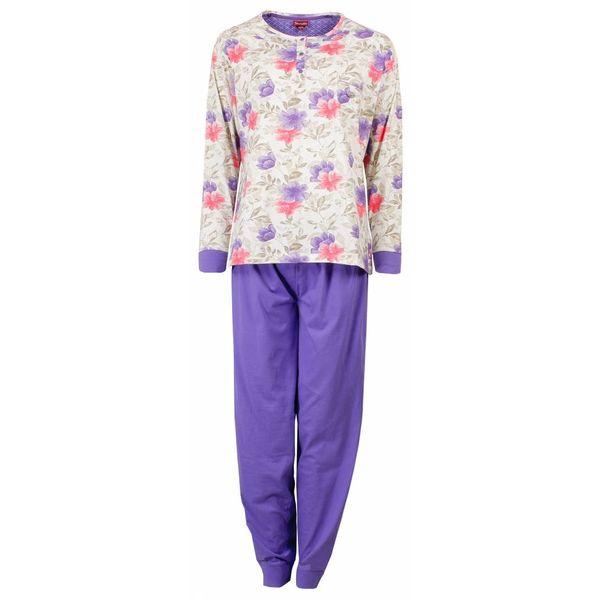 Medaillon Dames pyjama MEPYD1501A-Paars