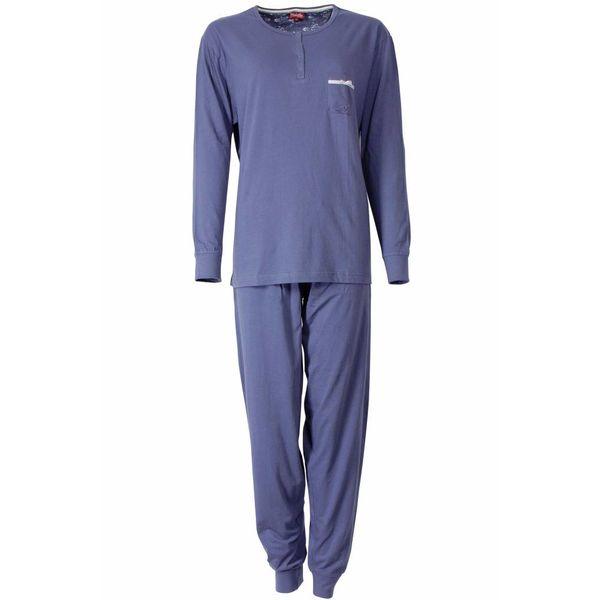 Medaillon Dames pyjama MEPYD2306A-Blauw