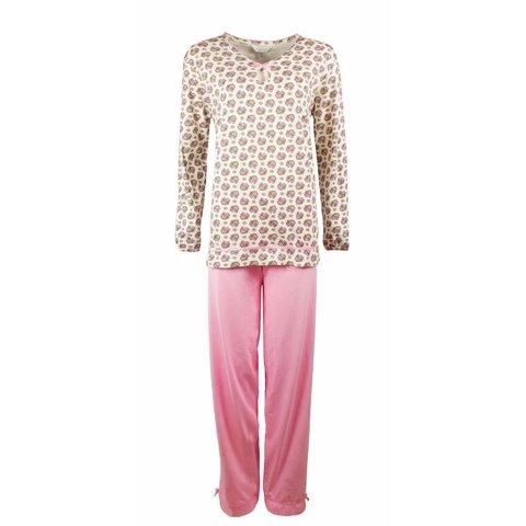 Dames pyjama TEPYD2007B-Roze-RM1