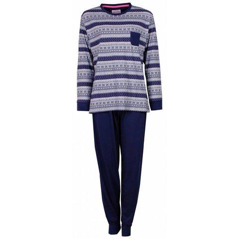 Dames pyjama IRPYD2409A-Blauw-O13