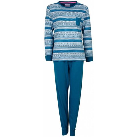 Dames pyjama IRPYD2409B-Groen- O13