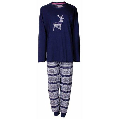 Dames pyjama IRPYD2410A-Blauw-L16