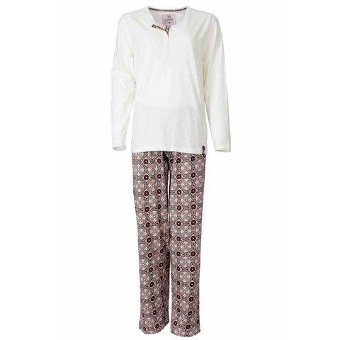 Dames pyjama IRPYD2305B-Wit-B8