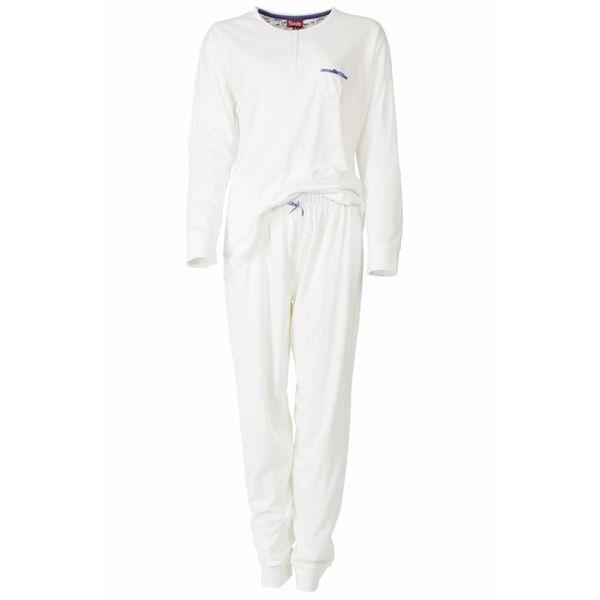 Medaillon Dames pyjama MEPYD2306B-Wit