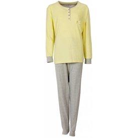 Tenderness Dames pyjama TEPYD1407A-Geel-O10-11