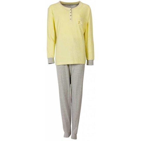 Dames pyjama TEPYD1407A-Geel-O10-11