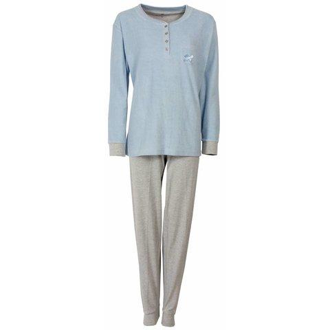 Dames pyjama TEPYD1407B-Blauw-O11