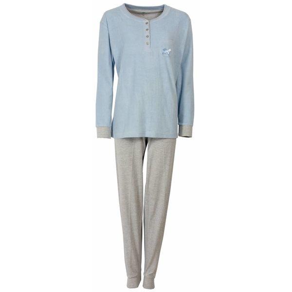 Tenderness Dames pyjama TEPYD1407B-blauw