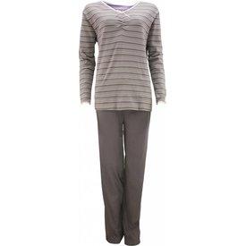 Tenderness Dames pyjama TEPYD2104D-Antraciet-P7