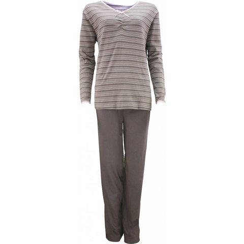 Dames pyjama TEPYD2104D-Antraciet-P7