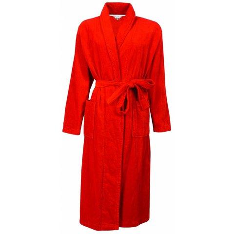 Dames badjas IRBRD2310C-Rood-Q14
