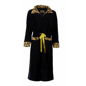 Medaillon Dames badjas MEBRD2507B-Zwart-I3