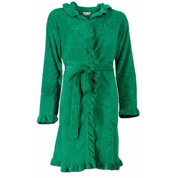 Tenderness Dames badjas TEBRD1503B-Emerald-Groen