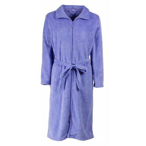 Dames badjas TEBRD2501B-Blauw-TR9