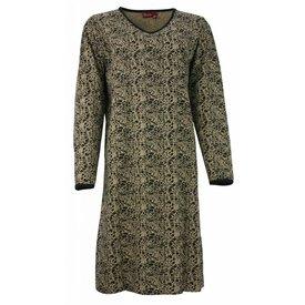 Medaillon Dames nachthemd MENGD2305B-Goud-zwart-RM1