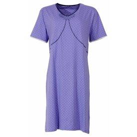 Medaillon Dames nachthemd MENGD1403A-Violet-TR