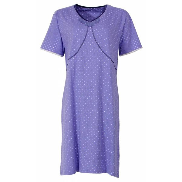 Medaillon Dames nachthemd MENGD1403A-Violet
