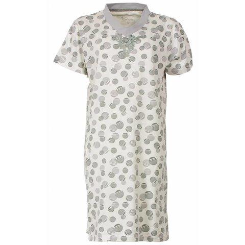 Dames nachthemd MENGD1407A-Licht grijs-J17