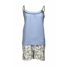 Tenderness Tenderness Dames Shortama Licht Blauw