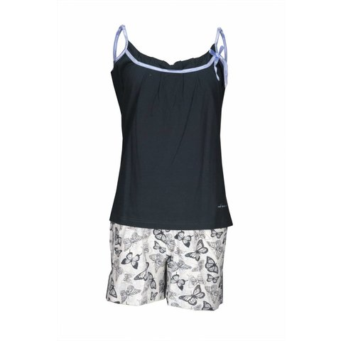 Tenderness Dames Shortama Donker Blauw