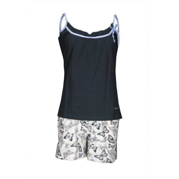 Tenderness Tenderness Dames Shortama Donker Blauw