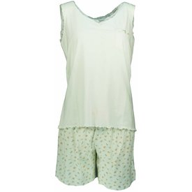 Tenderness Dames shortama TESAD1302A-Wit-O14