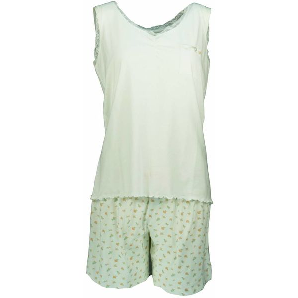 Tenderness Dames shortama TESAD1302A-Wit