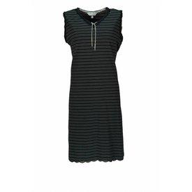 Tenderness Dames nachthemd TENGD1203B-Zwart-BR3