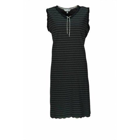 Dames nachthemd TENGD1203B-Zwart-BR3