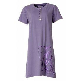 Tenderness Dames nachthemd TENGD1410A-Lila-F9