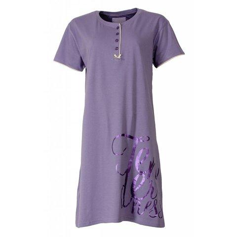 Tenderness Dames Nachthemd Lila