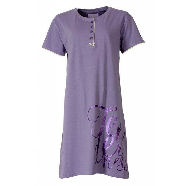 Tenderness Dames nachthemd TENGD1410A-Lila