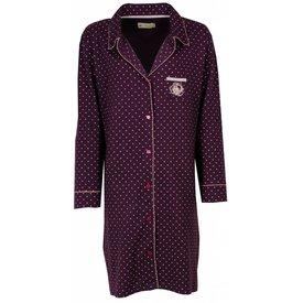 Tenderness Dames nachthemd TENGD2403A-Paars- J17