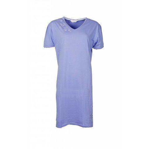 Dames nachthemd TENGD1210C-Blauw-RM1