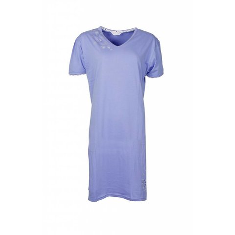Tenderness Dames Nachthemd Blauw