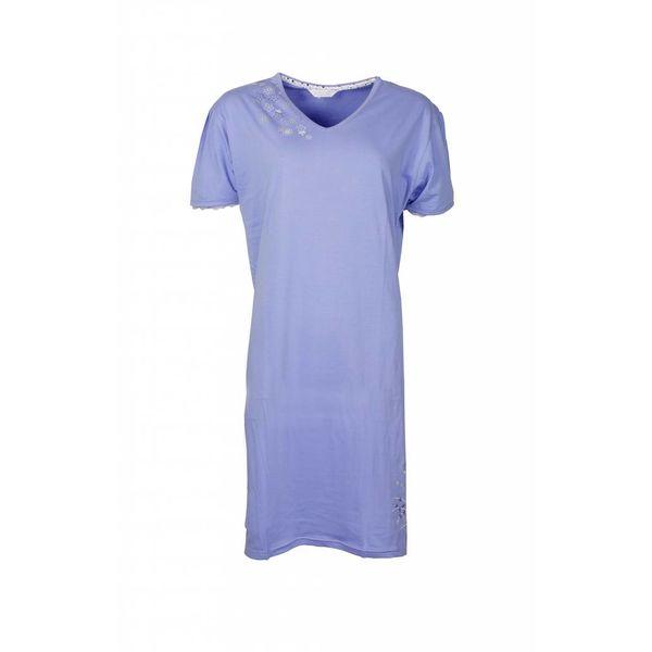 Tenderness Dames nachthemd TENGD1210C-Blauw