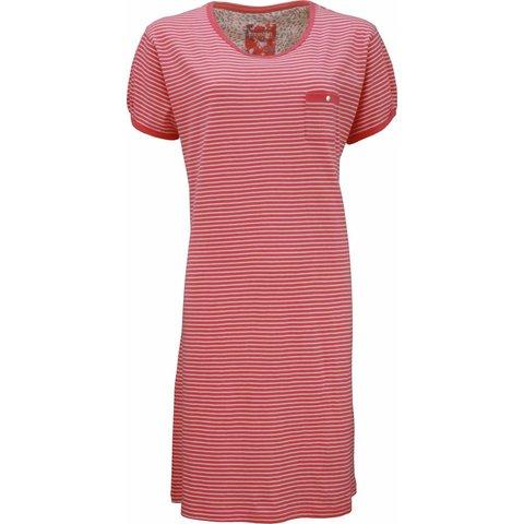 Dames nachthemd IRNGD1302A-Rood
