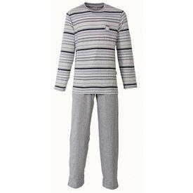 M.E.Q Heren pyjama MEPYH1302B-Grijs-F11