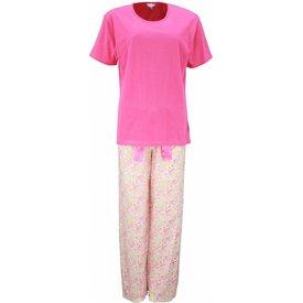 Tenderness Dames pyjama TEPYD1201A-Roze-PQ