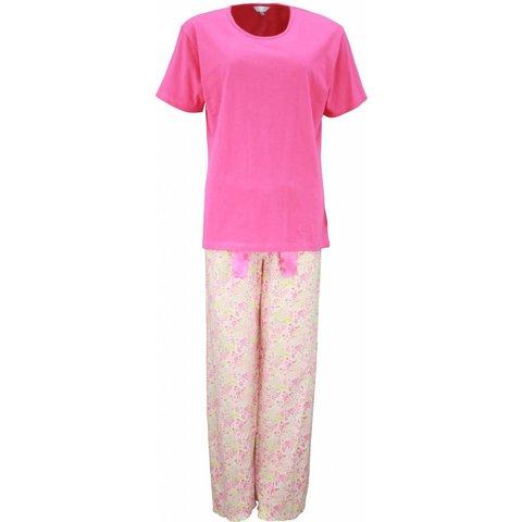 Dames pyjama TEPYD1201A-Roze-PQ
