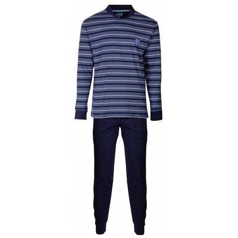 Heren pyjama MEPYH2406A-Blauw-RM