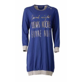 Irresistible Dames nachthemd IRNGD2506B-Blauw-TR8