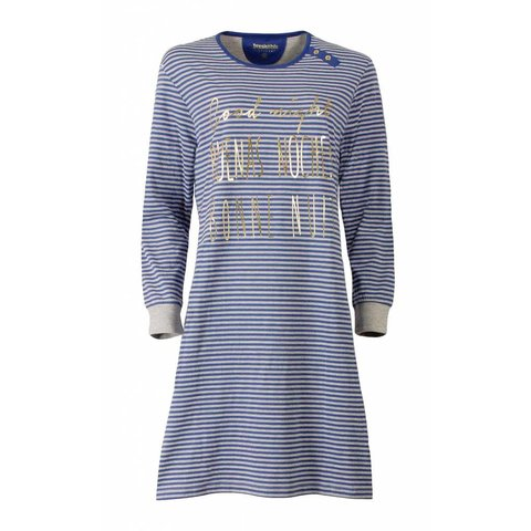 Dames nachthemd IRNGD2507B-Blauw-J10