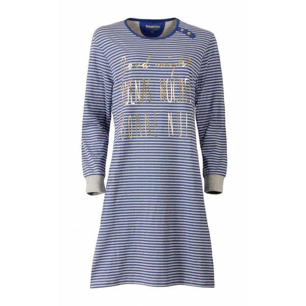 Irresistible Dames nachthemd IRNGD2507B-Blauw-J10